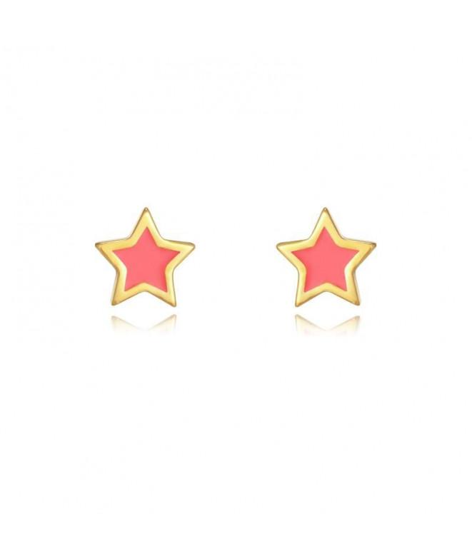 Pendientes Estrella Coral