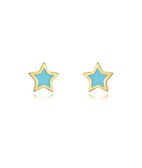 Pendiente Estrella Turquesa