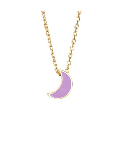 Colgante Moon Lila