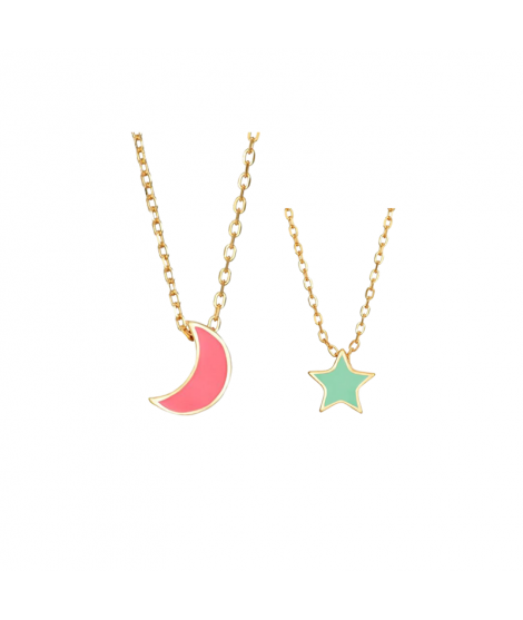 Pack Colgante Moon-Star