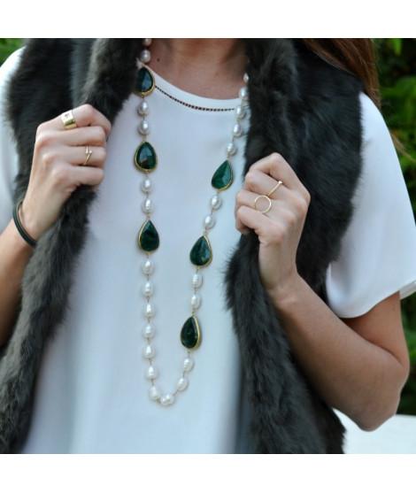 Boutique en ligne 248cb ab78b Collares de perlas y Collares de perlas bisuteria