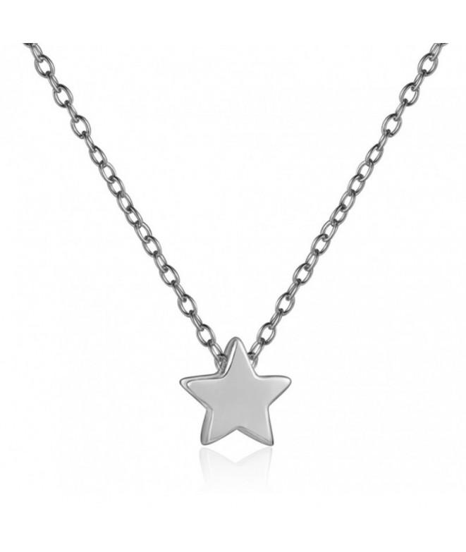 Colgante Estrella Mini Plata