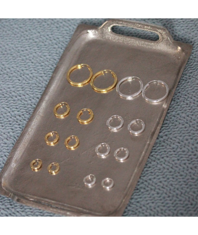 Pendientes Aro Básico 15mm