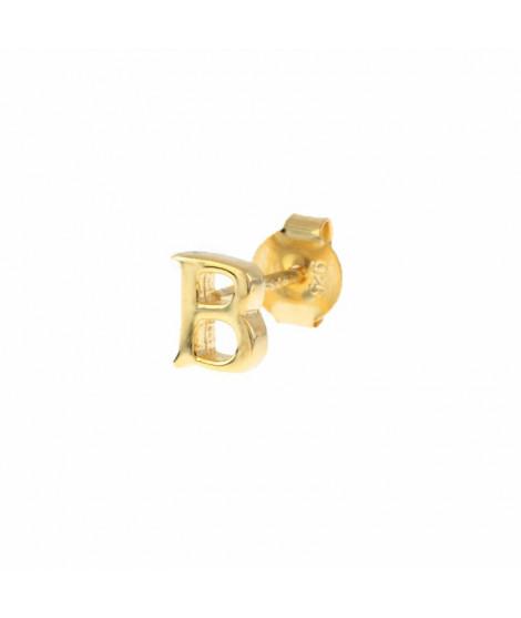 Pendiente Letra Mini Oro