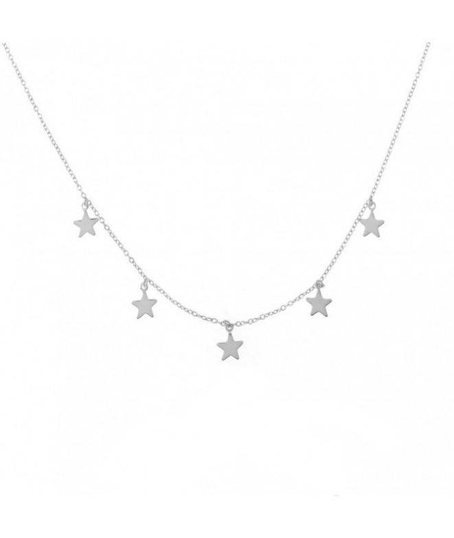 Colgante Estrellas Plata