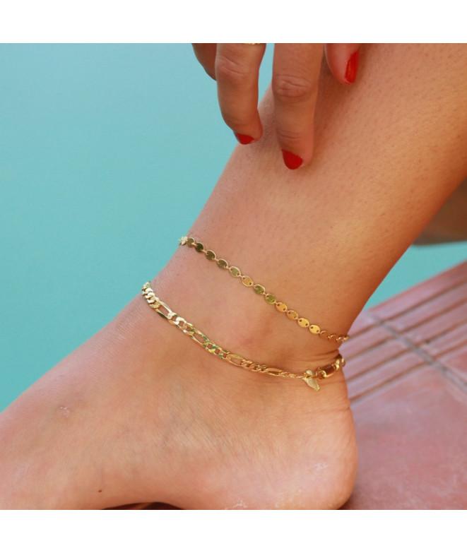 Tobillera Gold Chain Musa