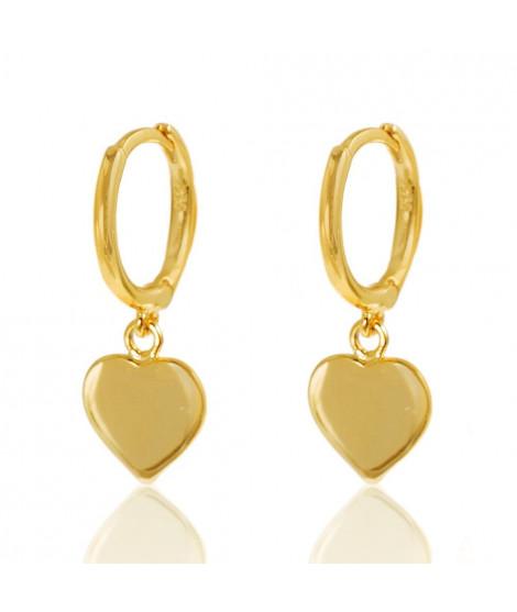 Pendientes Aro Love Oro