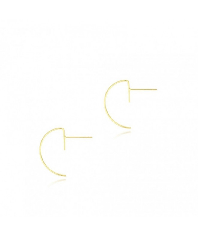 Pendientes Semi-Aro Oro