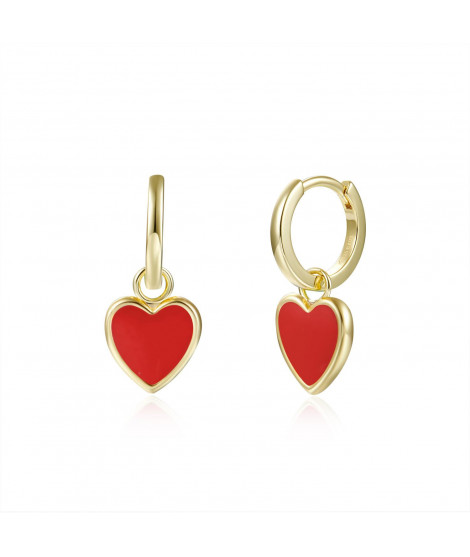 Pendientes Lisse Red Love