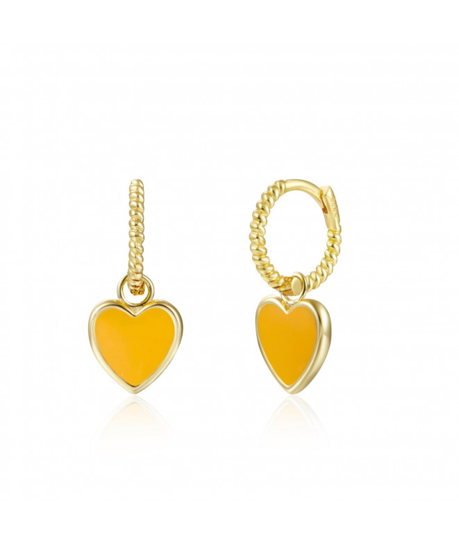 Pendientes Gallon Mustard Love