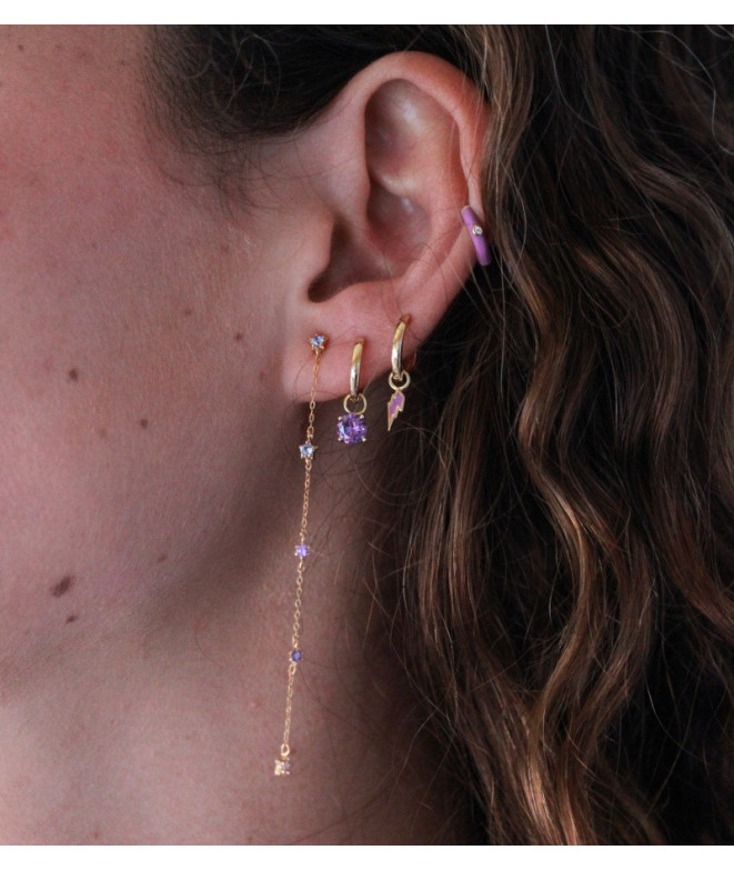 Pendientes Lisse Rayito