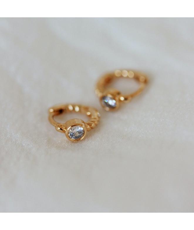 Pendientes Amber Oro