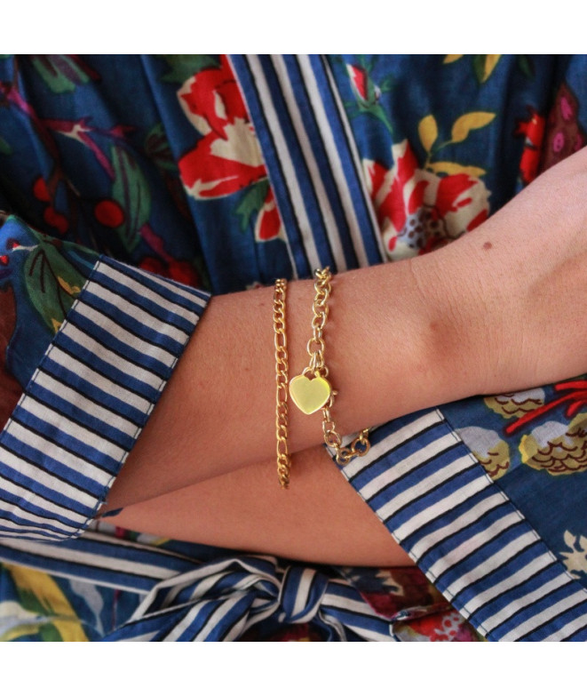 Pulsera Necklace Acero Fina