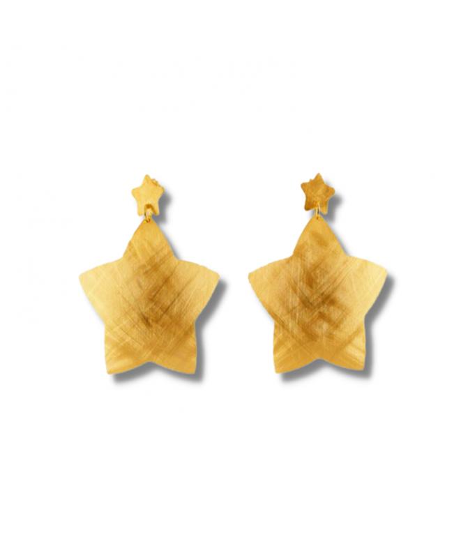 Pendientes Brunela Oro