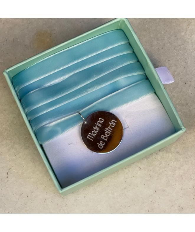 Medalla Frase Personalizada 25mm