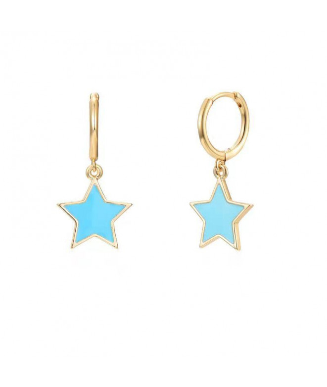 Aros Star Turquesa
