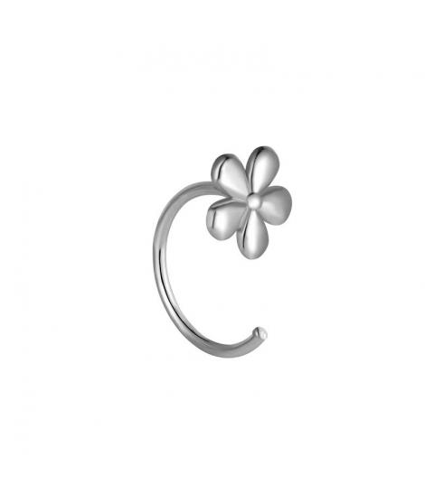 Pendiente Flower Plata